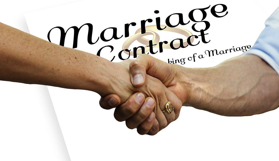 Comprendre le principe du contrat de mariage